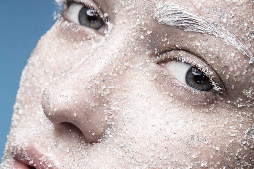 inverno nemico della pelle